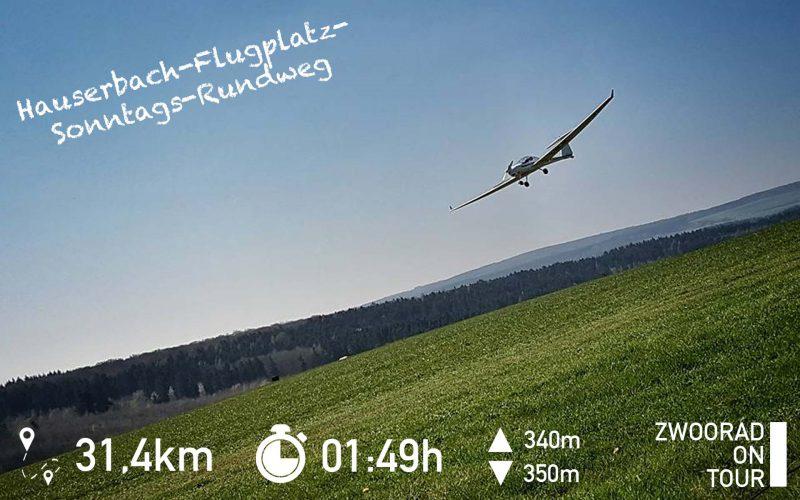 Hauserbach-Flugplatz-Sonntags-Rundweg